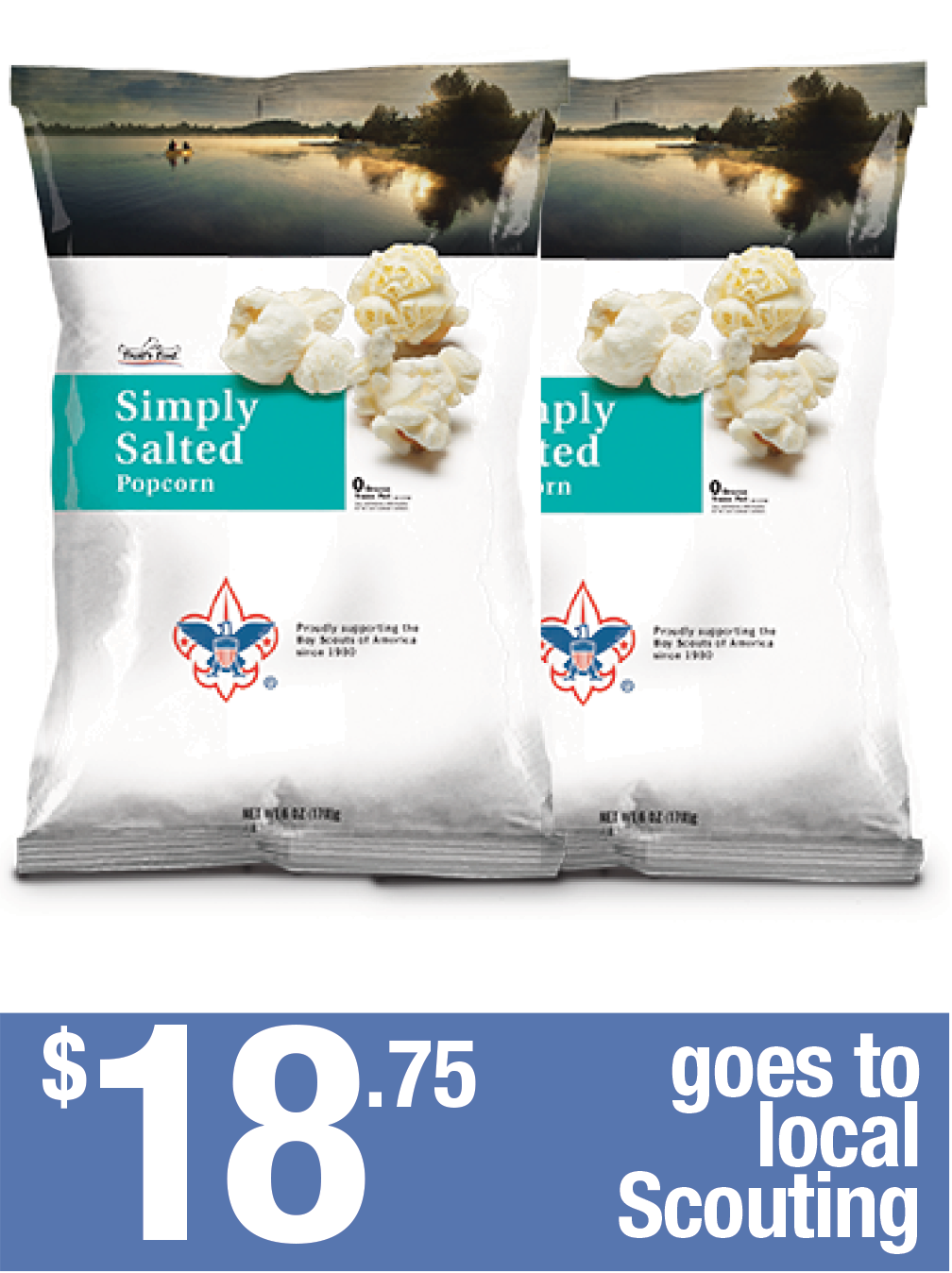 6oz Simply Salted