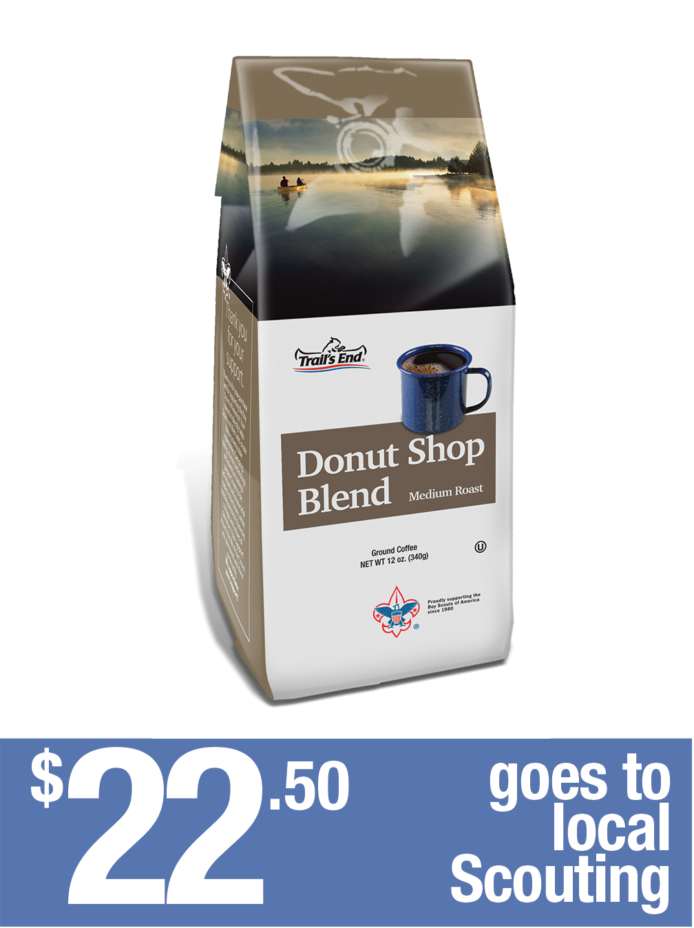 Donut Shop Blend - Ground Coffee