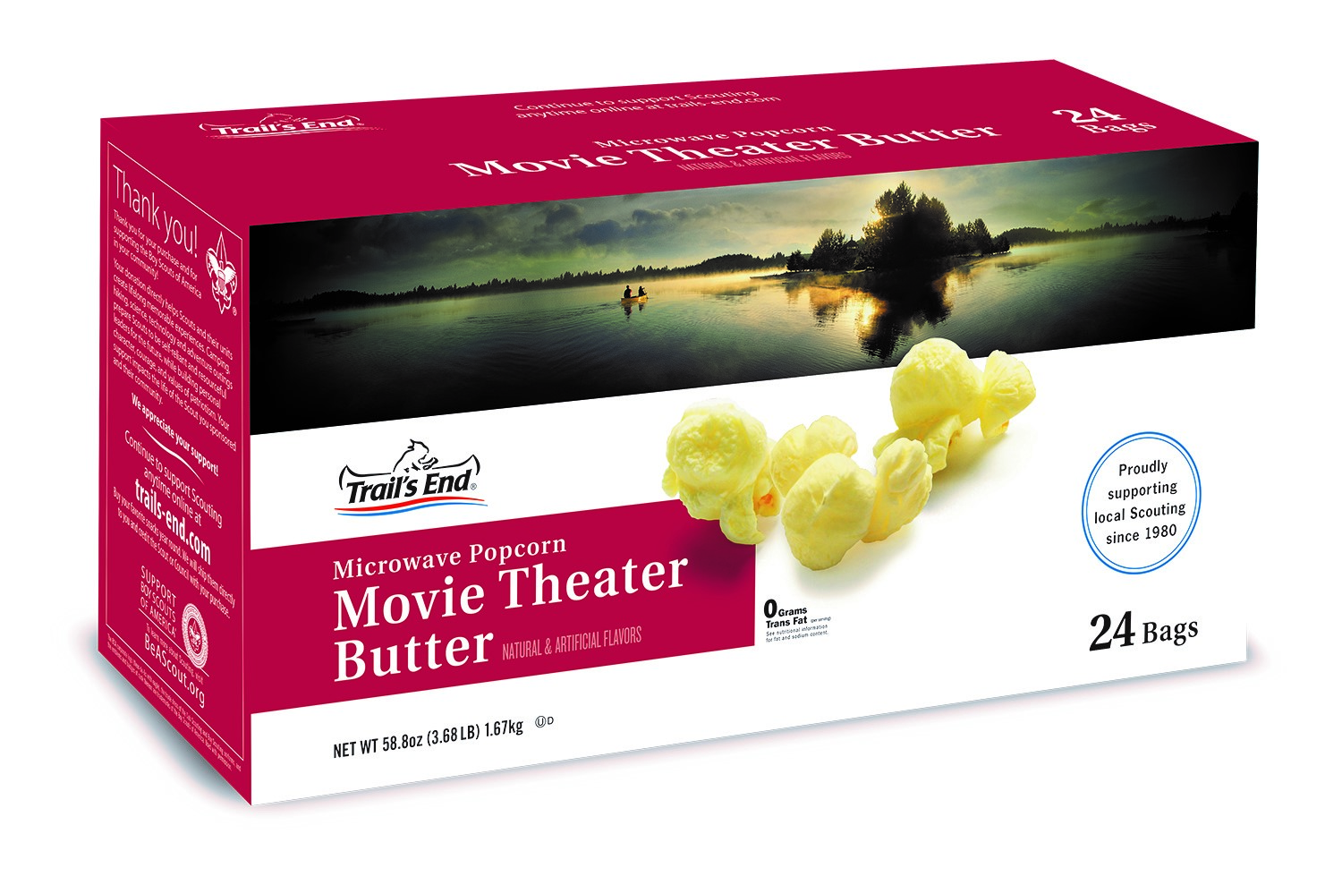 Movie Theater Butter Microwave Popcorn - 24pk