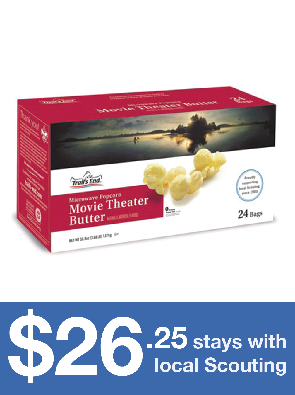 Movie Theater Butter Microwave Popcorn