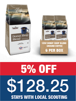 Donut Shop Blend Ground Coffee - Case