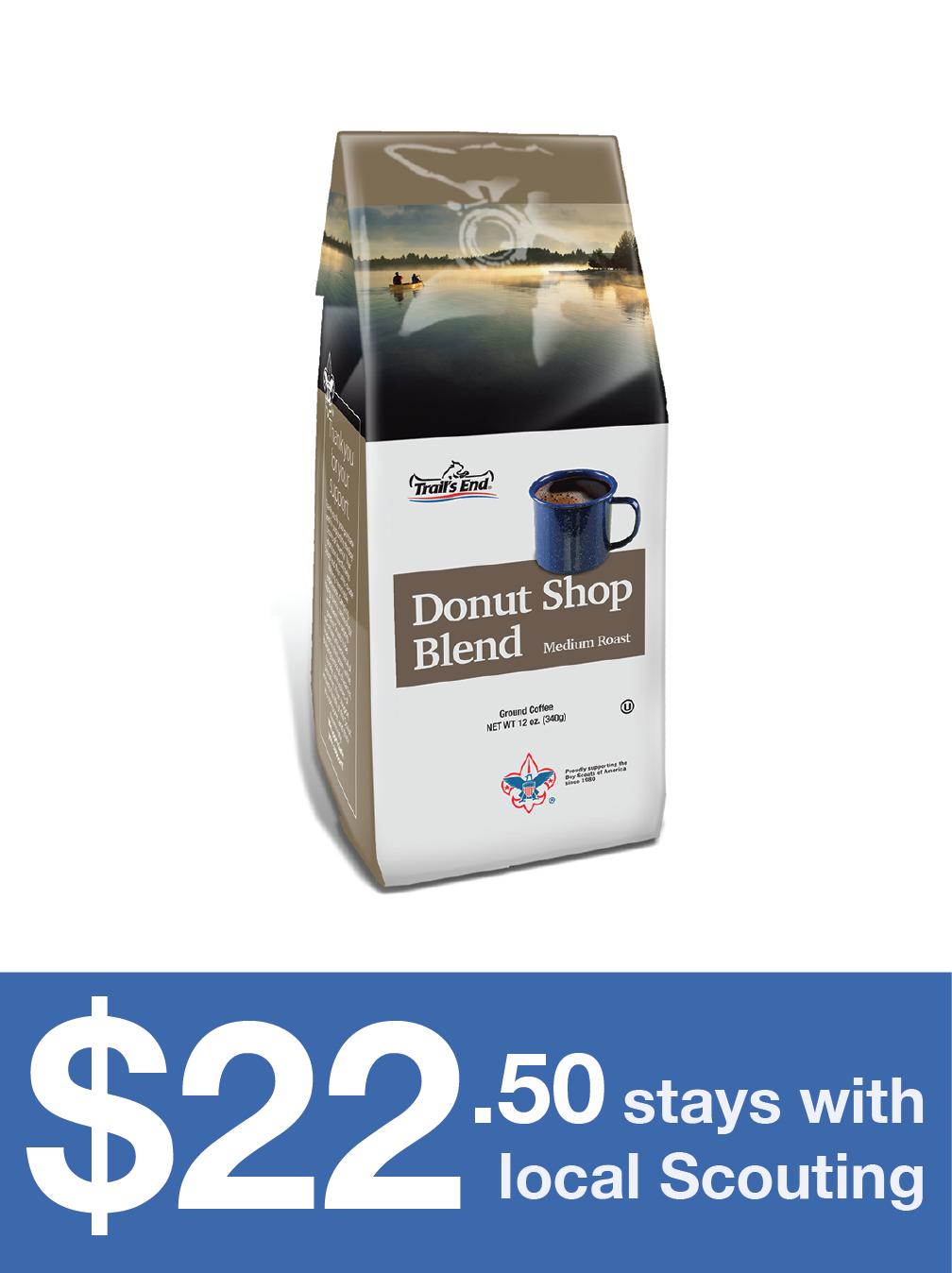 Donut Shop Blend - Ground Coffee