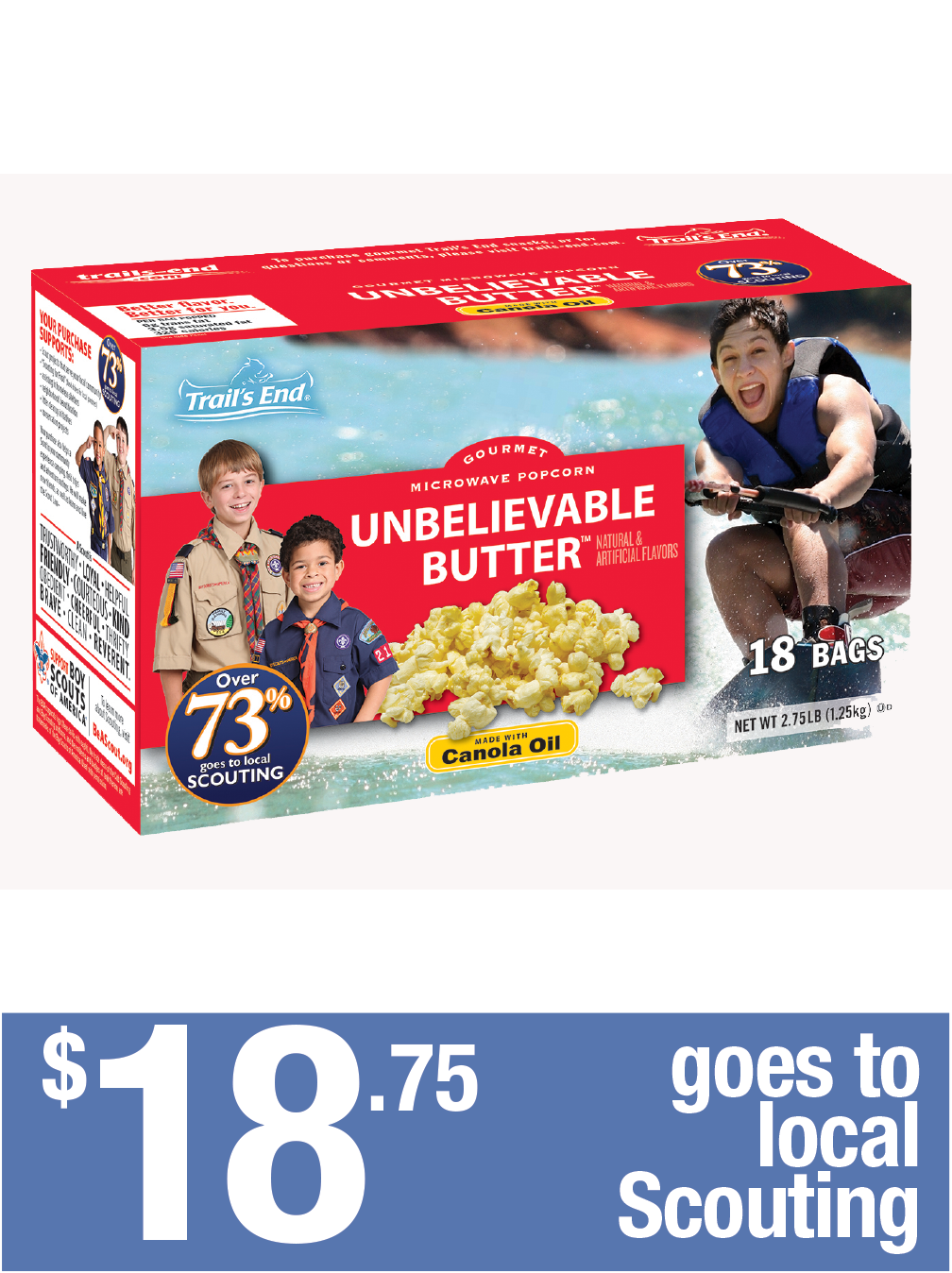 Unbelievable Butter - 18pk Microwave
