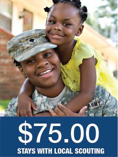 Stars & Stripes Level Military Donation